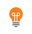 nice and clean light bulb vector image