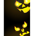 Night monsters Jack O Lanterns vector image