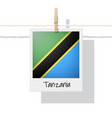 photo of tanzania flag vector image vector image
