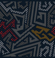 urban color geometric pattern vector image vector image