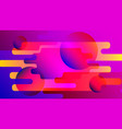 abstract bright futuristic background vector image