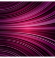 Abstract warped purple stripes colorful background vector image
