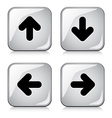 glossy arrow buttons