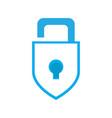 isolated lockpad icon vector image