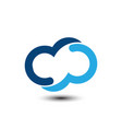 technology logo image vector image