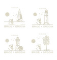 wedding card templates vector image vector image