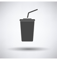 Cinema soda drink icon vector image