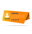 creative testimonials template with different vector image vector image
