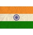 India paper flag vector image