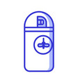 mosquito repellent aerosol bottle icon vector image