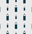 Plastic bottle with drink icon sign Seamless vector image vector image