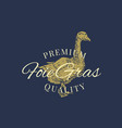premium quality foie gras goose pate abstract vector image vector image
