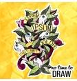 Detailed doodles on paper textureColorful design