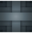 Abstract background with black paper layers vector image vector image