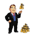 Banker vector image vector image