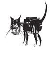 Cat Computer vector image