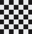 seamless black and white tiles vector image vector image