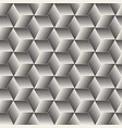 seamless halftone lines mosaic pattern modern vector image
