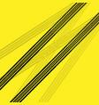 tire track black brake silhouette vector image vector image