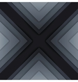 Abstract grey triangle shapes background vector image