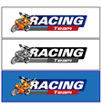 Race Team vector image vector image