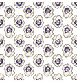 seamless floral pattern beautiful pansy flower vector image vector image