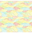 Seamless pattern with wavy scale texture vector image