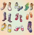 Some Original Shoes vector image