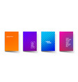 abstract color pattern gradient background vector image