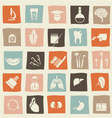 Health Icons vector image vector image