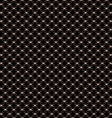 Lace seamless pattern with circles on black vector image vector image