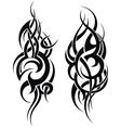 Maori styled tattoo pattern for a shoulder vector image vector image
