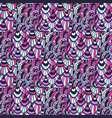 ornamental indian pattern fashion textile swatch vector image vector image
