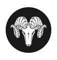 ram sign vector image