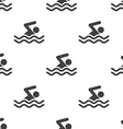 swim seamless pattern vector image