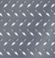 diamond metal plate seamless pattern vector image
