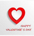 floating heart shaped disc vector image vector image