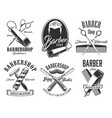 haircut head mustaches scissors barbershop signs