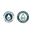 preservatives no added 0 percent icon natural