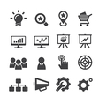 seo icon vector image vector image