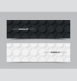template for web banners for a site in a vector image vector image