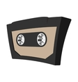 Audio cassete cartoon icon vector image