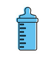 bottle baby isolated icon vector image vector image