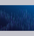 digital blue lines streams visual optic technology vector image vector image