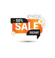 mothers day discount sign shopping sale poster vector image vector image