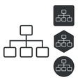 Scheme icon set monochrome