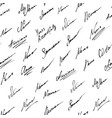 signature icons background vector image