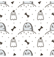 Spooky halloween seamless pattern background vector image vector image