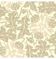 Vintage Seamless floral background dandelion vector image vector image