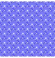 Design seamless blue spiral diagonal background vector image